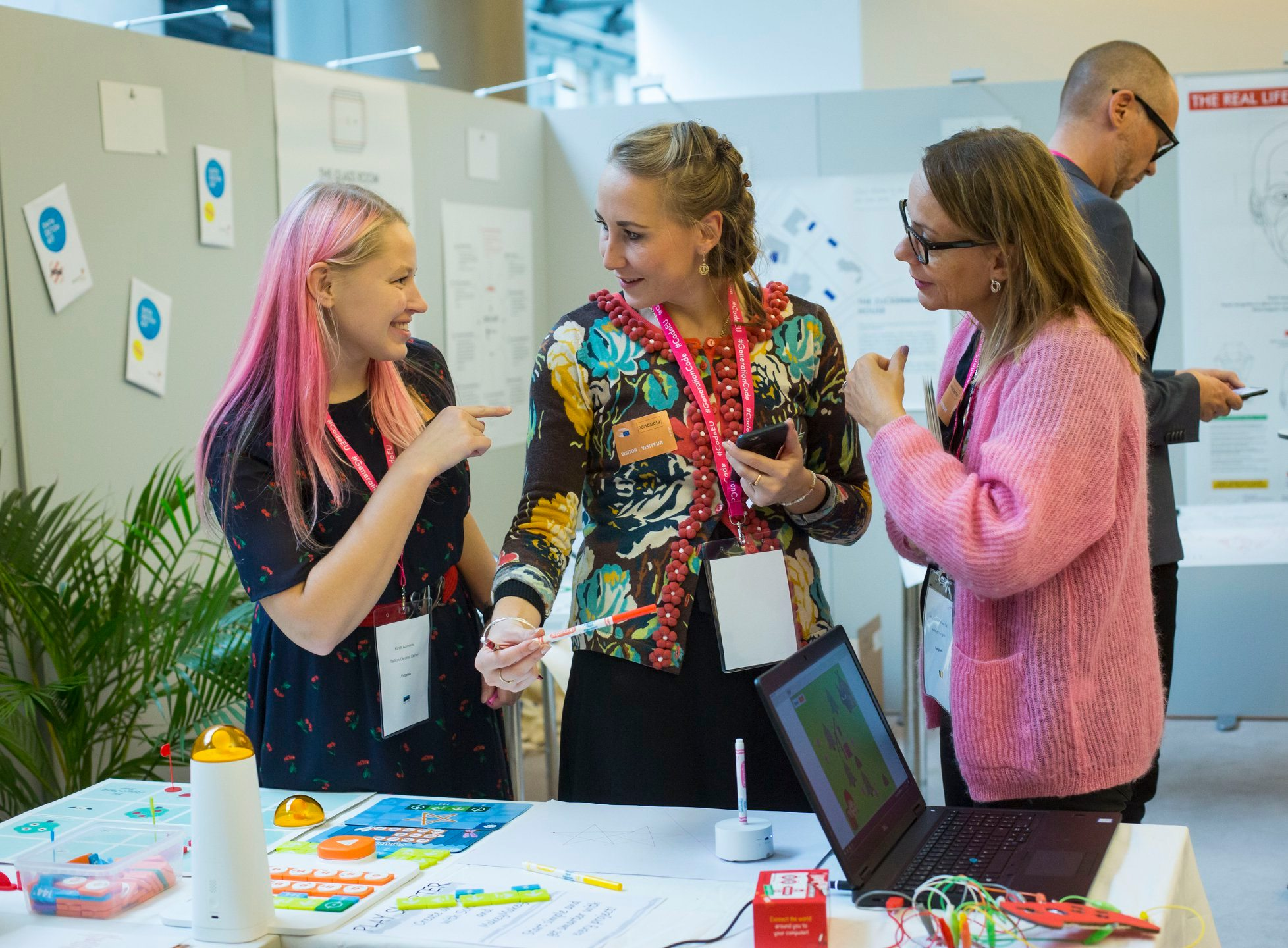 Meet the exhibitors | Generation Code 2020